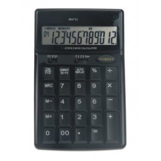 Calcolatrice da tavolo BIG come TASTIERINO NUMERICO a 12 cifre e doppia alimentazione azzura
