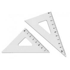 Coppia Mini squadrette in alluminio ( 45° e 60°)
