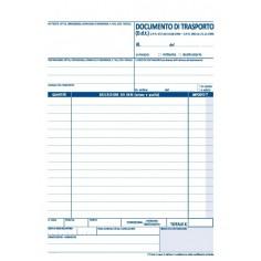 Documento di trasporto 3 copie autor 15x21 - pezzi 2