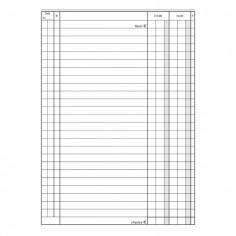 Registro cassa entrate uscite A5 (15x21) 96 pagine con spirali