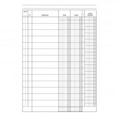 Registro conto corrente banca A5 (15x21) 96 pagine con spirali