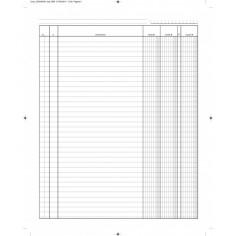 Registro dare avere saldo A5 (15x21) 96 pagine con spirali