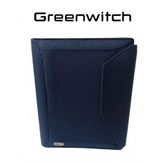 Greenwitch London blu 2016 - agenda organizer con strappo in tessuto 14x21