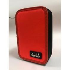 One color astuccio portacolori a 3 zip nero completo accessori giotto